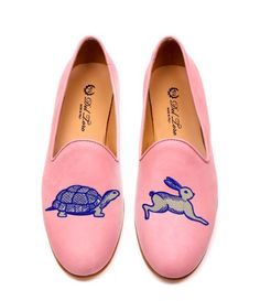 The Tortoise And The Hare Loafer: i shall develop an unusual gait