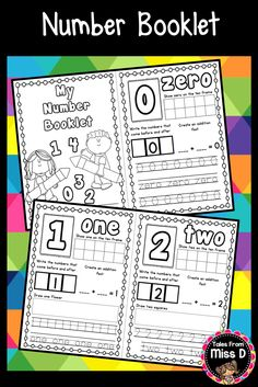 This Number Sense Booklet is perfect for teaching students about the numbers 0 to 10 or for morning work.   Each Number Sense sheet requires students to;  1) Represent the number on a ten frame 2) Identify numbers that come before and after 3) Create a number sentence 4) Draw pictures to represent the number 5) Trace the numeral and written form of the number. Also includes a sheet to identify odd and even numbers. © Tales From Miss D