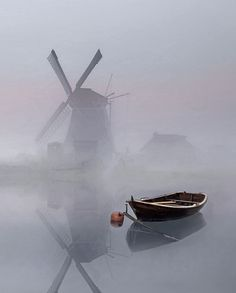Foggy morning...