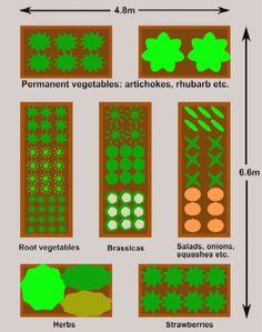 4X8 Raised Bed Garden Layout The Secret Garden 400 x 300