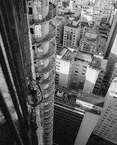 Nightmare staircase in São Paulo Brazil