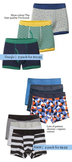 Shopping List: Best Kid Underwear