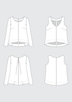 grainline hadley sewing pattern