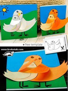 Halaavat linnut (Äitienpäiväkortti)