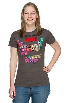 Exclusive Periodic Marvel Ladies' T-Shirt - Superhero T-Shirt