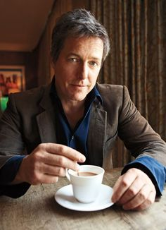 I frequently dream of having tea with the Queen. Hugh Grant So yes Hughs here. Funny about that. We have the same recurring dream involving the Queen. Mine would be more alo People Drinking Coffee, Drinking Tea, Coffee Break, Coffee Time, Coffee Cup, Nespresso, Starbucks, Recurring Dreams, Hugh Grant