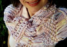 Pink Scarf with other Soft Pastels Scarf Knit Women Scarf (Yellow, Purple, Mint Green) on Etsy, $48.00