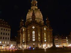 Frauenkirche Dresden bei Nacht