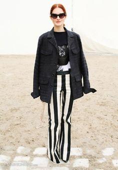 Wide Legged Stripes