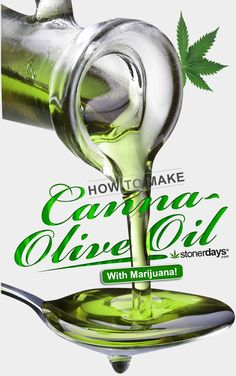 How to make canna-olive oil.