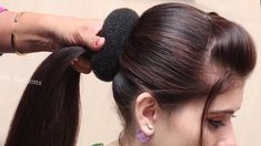 Beautiful Hairstyle for Wedding/party/Function Hair Style Girl Different Hairstyles for South Indian Wedding Hairstyles, Cute Wedding Hairstyles, Easy Party Hairstyles, Cute Hairstyles, Kids Hairstyle, Hairstyle Short, Easy And Beautiful Hairstyles, Side Braid Wedding, Wedding Party Hair