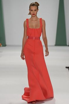 REPIN this Carolina Herrera look and it could be yours to rent next season on Rent the Runway! #RTRxNYFW
