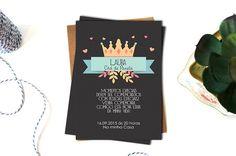 Arte de Convite Personalizado - Tamanho 10X15 cm  Quer economizar mais e mesmo assim ter uma festa linda ?  Então aproveite e compre da gente as artes digitais para a sua festa  Com a arte digital do convite você pode:  * Imprimir quantos convites quiser  * Poderá imprimir sua arte onde quiser: e...