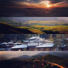 Beautiful scenery in Baiyun mountain Fuan,Fujian,China. A nice place to behold the sunrise. There are many glacial mortars in the geopark. #travelling #Ningde #baiyunmountain #geopark geop#photography