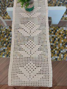 Crochet Table Runner Pattern, Crochet Edging Patterns, Crochet Tablecloth, Baby Knitting Patterns, Crochet Designs, Crochet Doilies, Crochet Mat, Crochet Home, Crochet Crafts