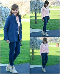 It's my go-to jacket from LOFT for quick summer style