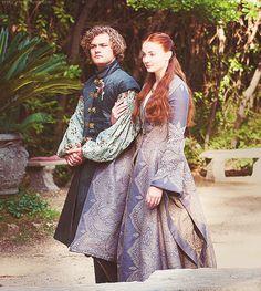 Sansa Stark & Loras Tyrell ~ Game of Thrones