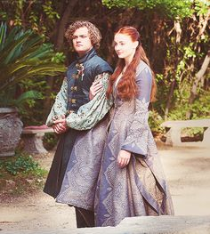 Sansa Stark & Loras Tyrell ~ Game of Thrones