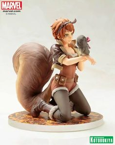 Squirrel Girl Gets Her Own Bishoujo Statue