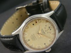 VINTAGE ENICAR POWER RESERVE EASTERN AUTOMATIC SWISS MEN'S WATCH a10082