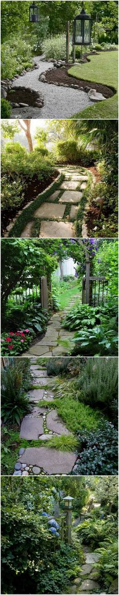 #garden #gardenpaths Beautiful Garden path and gardenscape ideas