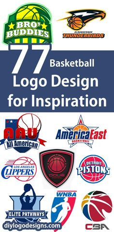 Basketball Logo Design Ideas for Inspiration => see full collection.