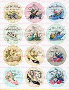 Möbeltattoo`s Nostalgie Shabby Transparent 1501 von Doreen`s Bastelstube  - Kreativ & Außergewöhnlich auf DaWanda.com