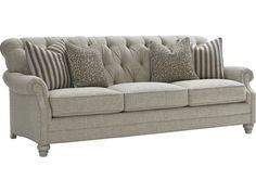 Lexington Oyster Bay Greenport Tufted Back Sofa