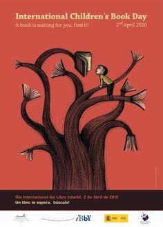 International children's book day poster