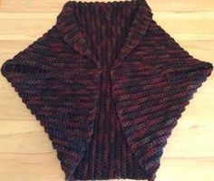 Warm wool vest made of rectangle, crocheted - Warme Wollweste aus Rechteck, gehäkelt vest finished Free Knitting, Baby Knitting, Knitting Patterns, Crochet Patterns, How To Start Knitting, Knitting For Beginners, Crochet Poncho, Crochet Top, Wool Vest