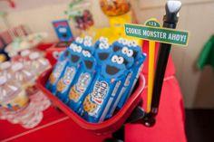 Sesame Street Birthday Party Ideas | Photo 7 of 67 | Catch My Party