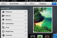 Photo Editor by Aviary - now on your iPhone