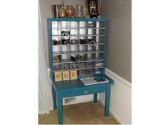 Post Office Cabinet Wine Rack