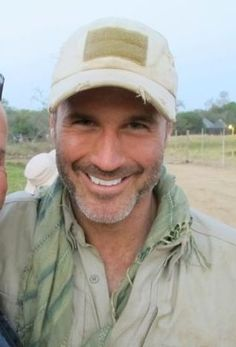 """Joel Lambert in South Africa during the filming of his reality-TV show """"Lone Target."""""""
