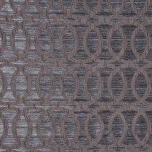 Chrome Entwined Circles Brocade 104784 An elegant polyester home fabric featuring texture upon texture: interlocking circles nest atop a striated, woven background. Subtle sheen and satiny feel. This fabric is perfect for bedding, light upholstery, window Brocade Fabric, Jacquard Fabric, Grey Fabric, Black Interior Design, Mood Fabrics, Home Decor Fabric, Fabric Wallpaper, Beautiful Interiors, Accent Pieces