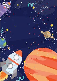 Outer Space Birthday Party Outer Space Birthday Party * Free Invitations * Party with Unicorns Outer Space Facts, Outer Space Pictures, Space Images, Space Photos, Space Party, Space Theme, 1st Boy Birthday, Unicorn Birthday Parties, Theme Galaxy