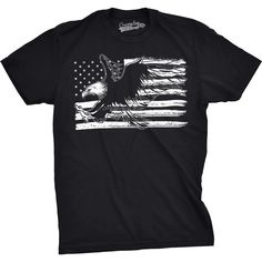 Bald Eagle American Flag Funny T shirts Cool USA Patriotic Tees