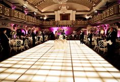 13 Ways to Customize Your Dance Floor | Photo by: Photo: Gerber and Scarpelli Wedding Photography/a> | TheKnot.com