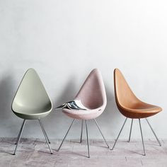 This Collection of Drop Chairs is Modern and Customizable #design trendhunter.com