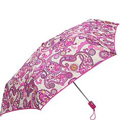 Vera Bradley Umbrella Paisley Meets Plaid