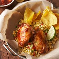 Slow Cooker Southwest BBQ Chicken--the secret ingredient in the sauce is jalapeno jelly!