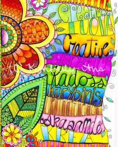 Creativity Illustration by KimberlyAns on Etsy.