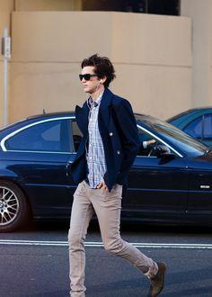 Pablo (26) Santiago, Chile Ingenierio Civil - PUCV Mi maldito y desenfrenado gusto por la moda hizo...
