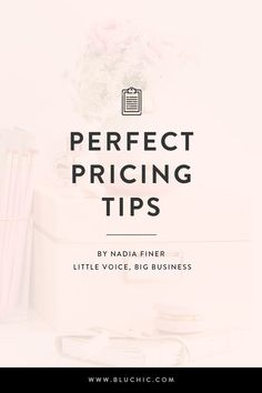 Perfect pricing tips for your small business