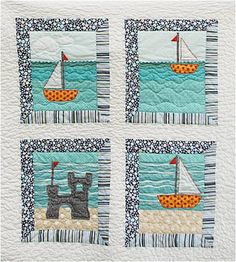 Beach inspired quilt