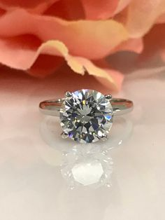 SVC-JEWELS 0.85 Carat Ctw 14K White Gold Plated Round Shaped White Diamond Ladies Wedding 5 Stone Enhancer Double Ring
