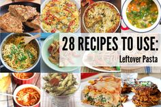 Transform your leftover pasta into a whole new meal with the inspiring recipes below. Pair spaghetti, rigatoni, macaroni, noodles etc.. with other ingredients that might be lurking in your fridge and you will have a delicious salad, frittata, bake, stir-fry etc.. If all else fail, you can simply fry up your leftover pasta with some […]