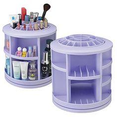 "360 ° Rotating Cosmetics Storage Stand Box Makeup Brush Pot Cosmetic Organizer(3 Selectable Colors) 2016 – $33.99 ""Beauty Box from Lightinthebox"" @LightInTheBox"