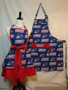 diy apron ideas | ... her ny giants apron Daily Discovery: His & Her New York Giants Aprons