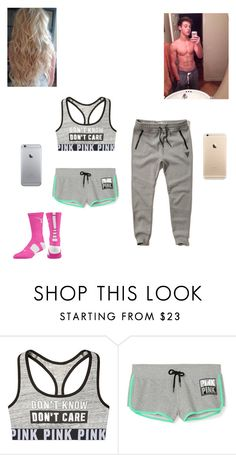 """""""A date with Cameron"""" by kylie-shawn-forever ❤ liked on Polyvore featuring Hollister Co. and NIKE"""